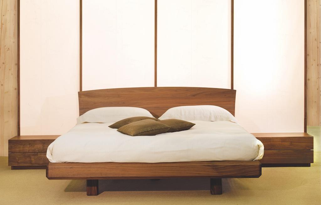 Grigiante Casabio letto semielevato-tiglio